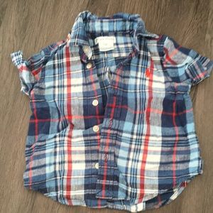 Ralph Lauren button down 6M